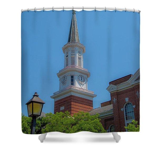 City Hall Shower Curtain