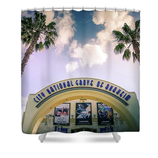 City National Grove, Anaheim Shower Curtain