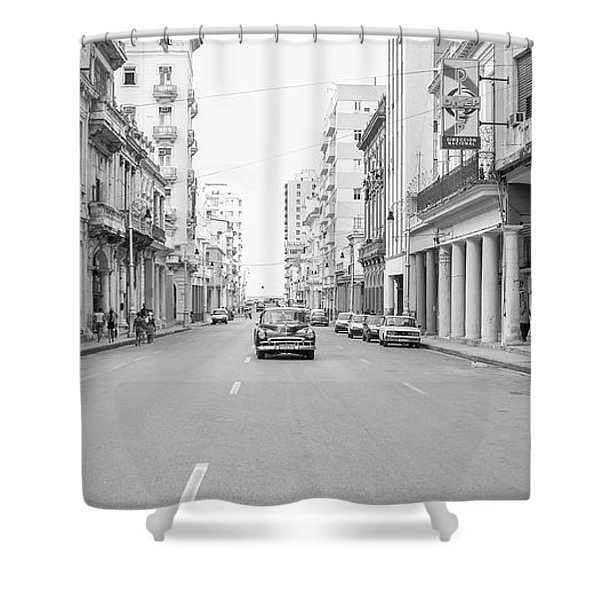 City Street, Havana Shower Curtain