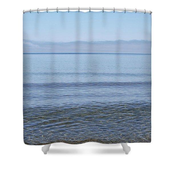 Clear Lake Superior Shower Curtain