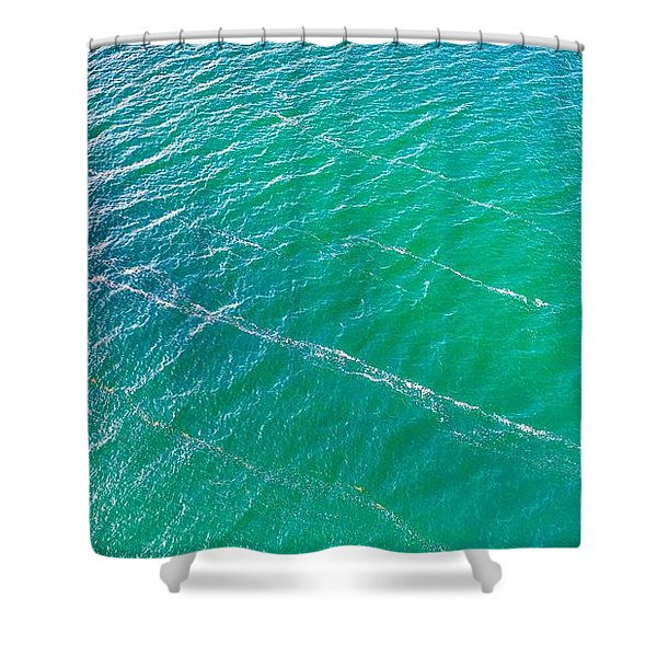 Clear Water Imagery  Shower Curtain