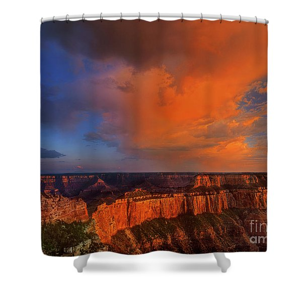Clearing Storm Cape Royal North Rim Grand Canyon Np Arizona Shower Curtain