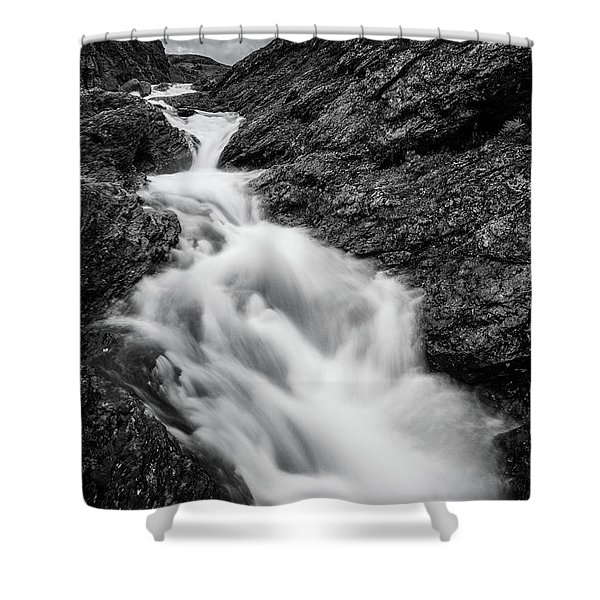 close to Ygnisdalselvi, Norway Shower Curtain