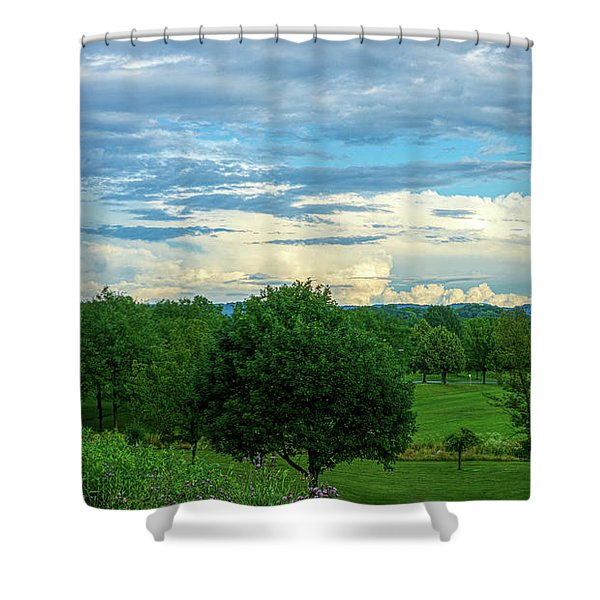 Cloud View Lehigh Valley Shower Curtain