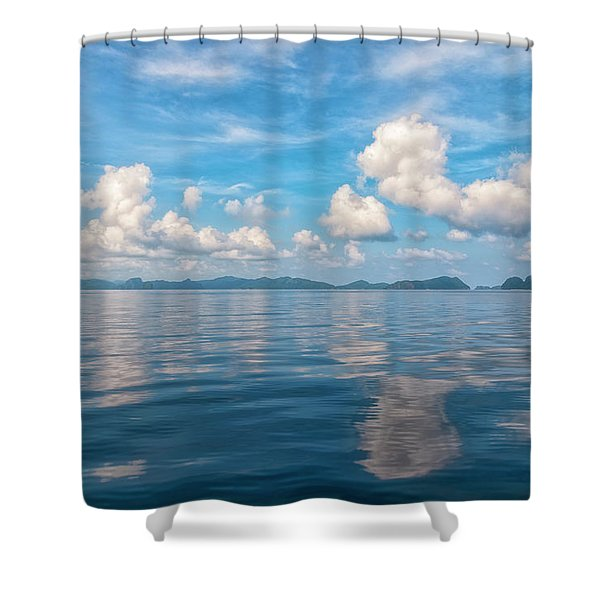 Clouded Bliss Shower Curtain