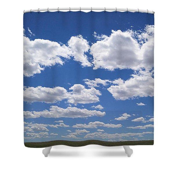 Clouds, Part 1 Shower Curtain
