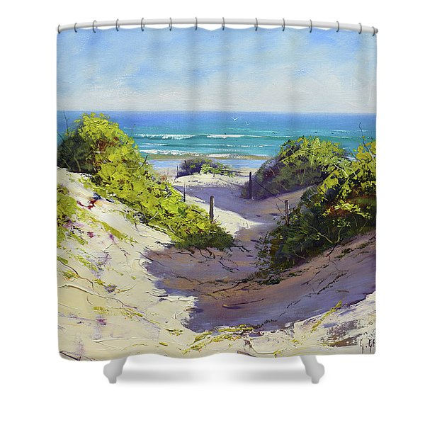Coastal Dunes Shower Curtain