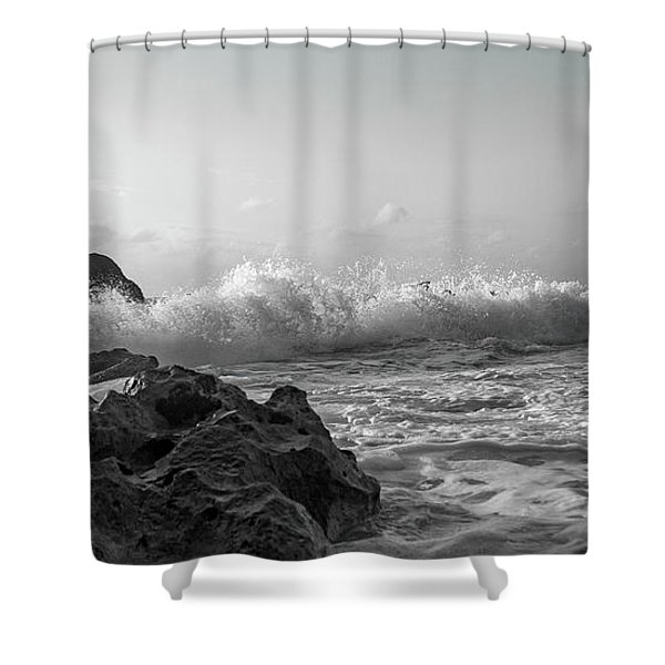 Coastal Elegance Of Nature Shower Curtain