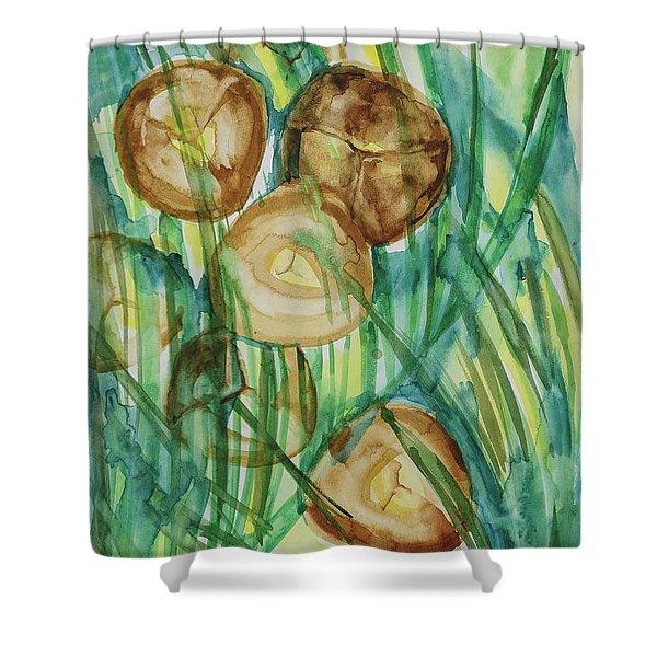 Coconut Tree Shower Curtain