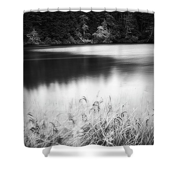 Shower Curtain featuring the photograph Coffenbury Lake by Whitney Goodey