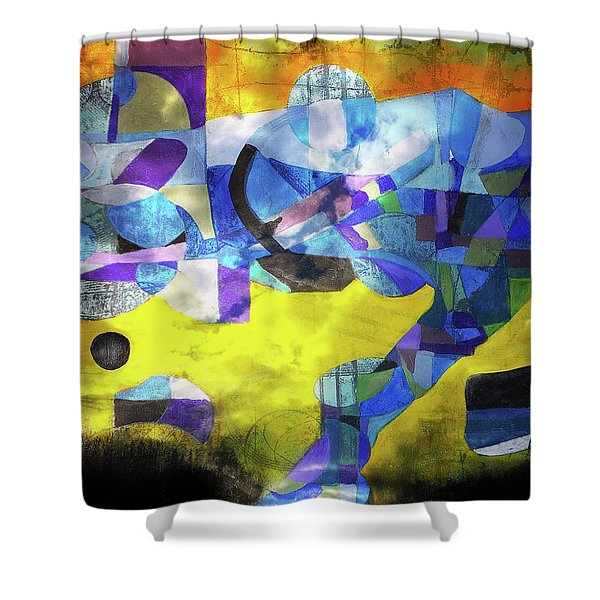 Cold Evening Wind Shower Curtain