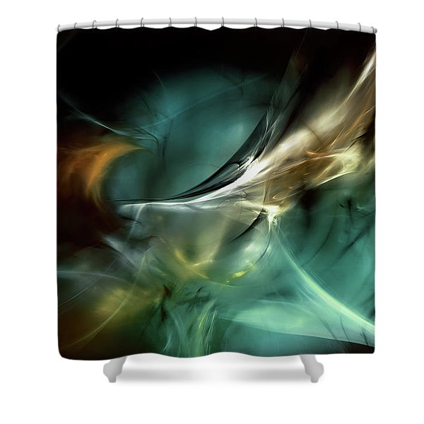Cold Fusion Shower Curtain