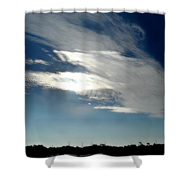 Collingwood's Clouds Shower Curtain