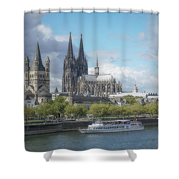 Cologne, Germany Shower Curtain