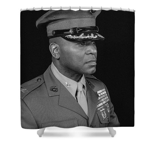 Colonel Al Trimble Shower Curtain