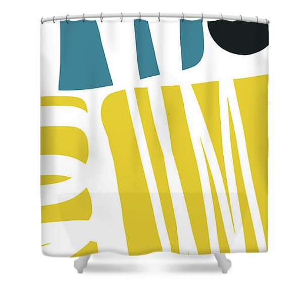 Colorful Bento 1- Art By Linda Woods Shower Curtain