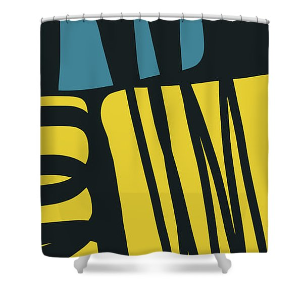 Colorful Bento 4- Art By Linda Woods Shower Curtain