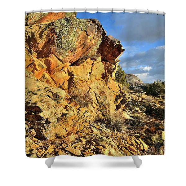 Colorful Crags In Colorado National Monument Shower Curtain