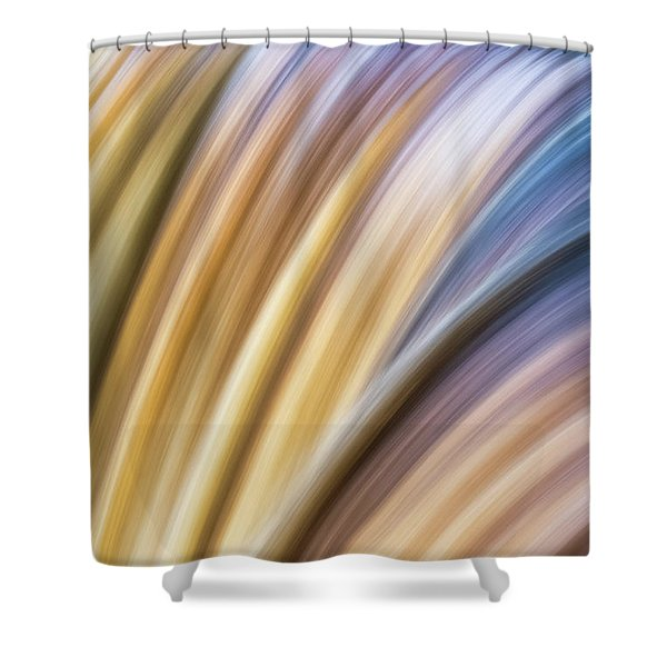 Colorful Flow Shower Curtain