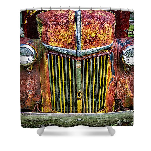 Colorful Ford Shower Curtain