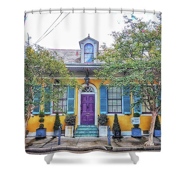 Colorful Nola Shower Curtain
