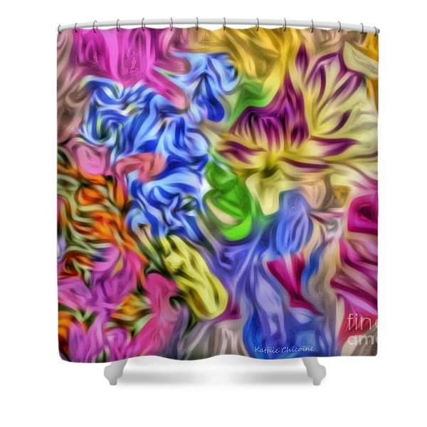 Colors From Nature Shower Curtain