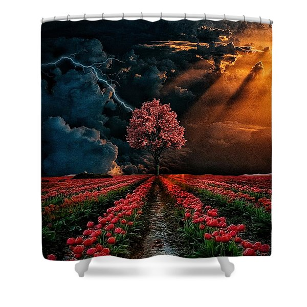 Colours Of The Sky Shower Curtain