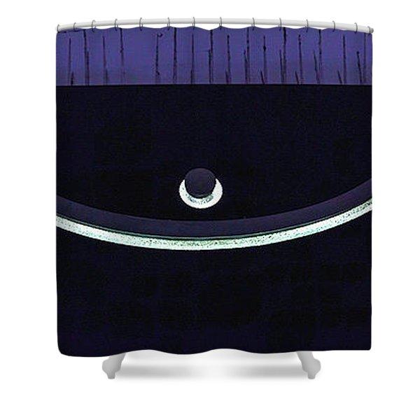 Colours. Purple Shower Curtain