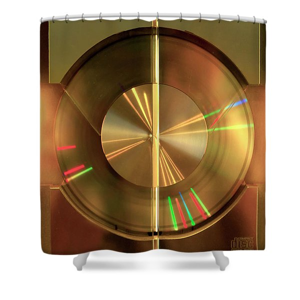 Colours. Time Shower Curtain