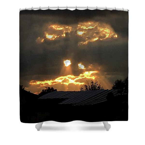 Coming For. You. Shower Curtain