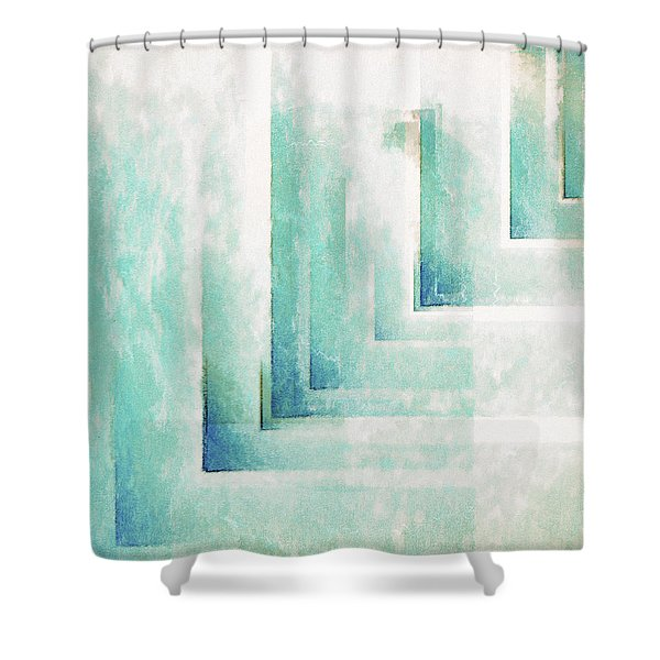Composition Patinee Shower Curtain