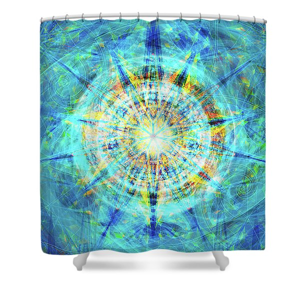 Concentrica Shower Curtain