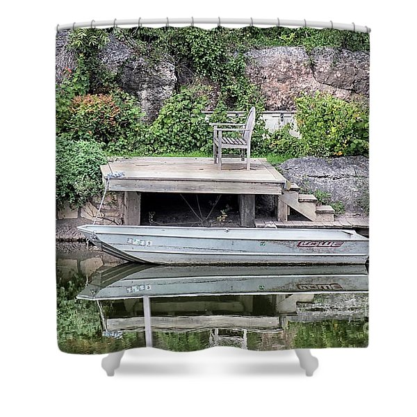 Concho Reflections Shower Curtain