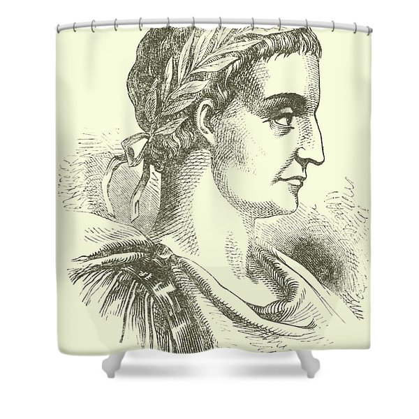 Constantine The Great Also Known As Constantine I Shower Curtain