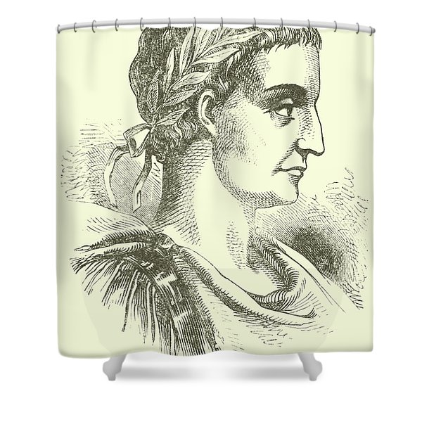 Constantine The Great, Illustration  Shower Curtain