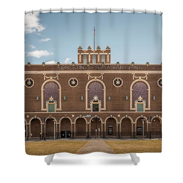 Convention Hall Shower Curtain