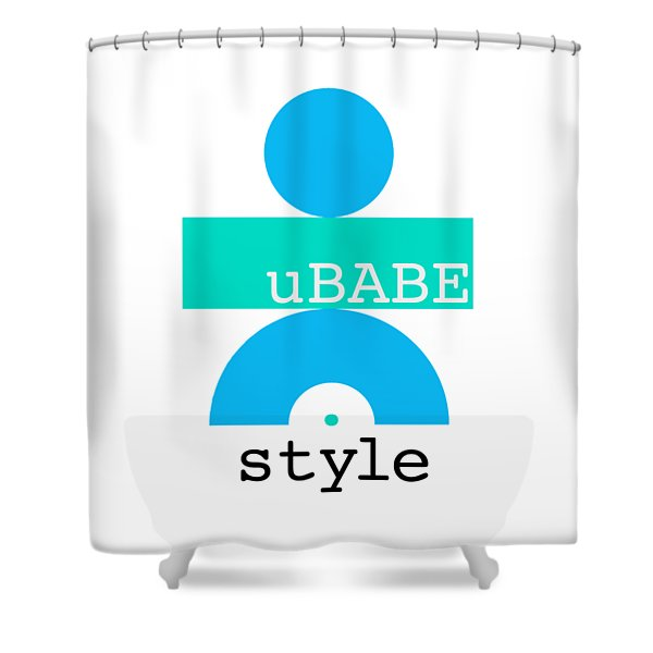 Cool Style Shower Curtain