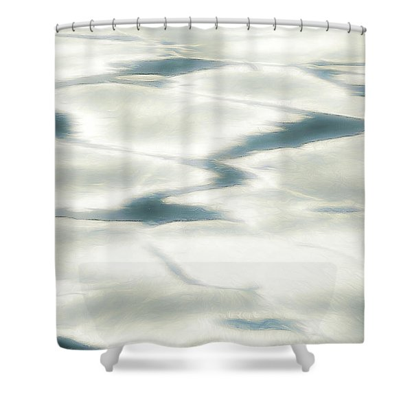Cool Tranquility Shower Curtain