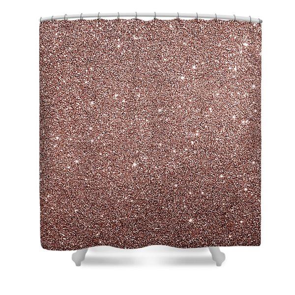Cooper Glitter Shower Curtain