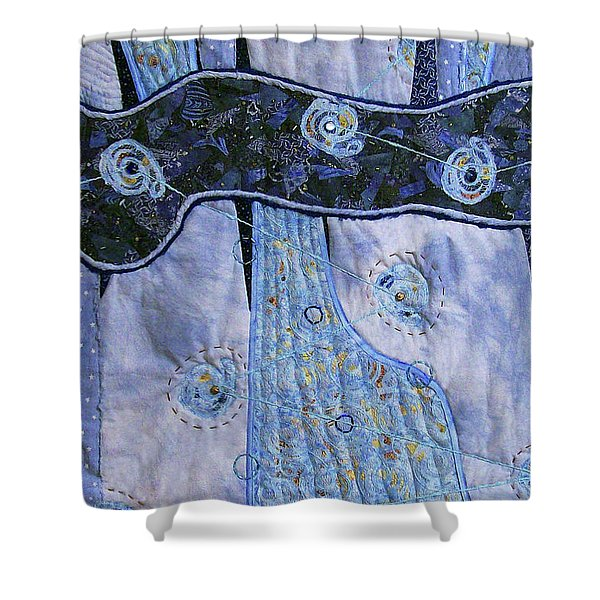 Cosmic Connectivity Shower Curtain