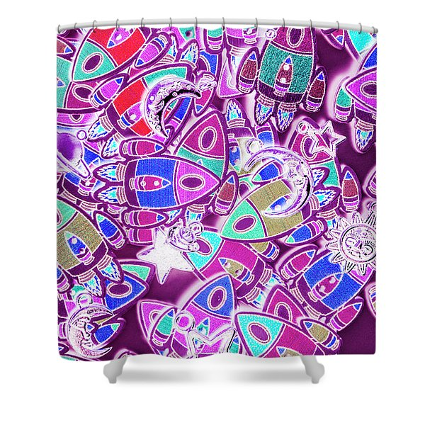 Cosmic Creativity Shower Curtain