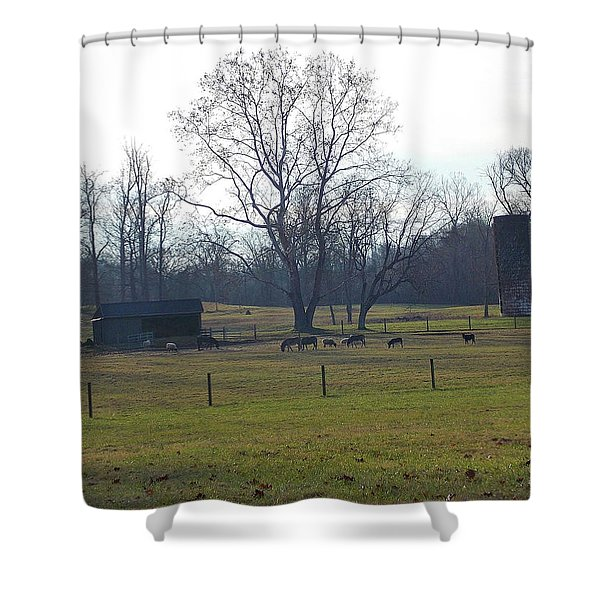 Country Pasture Shower Curtain