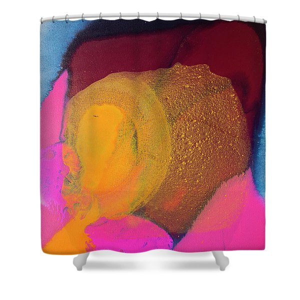 Couple In A Car Chase Shower Curtain