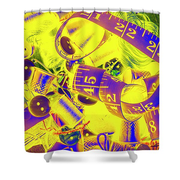 Crafting Colours Shower Curtain
