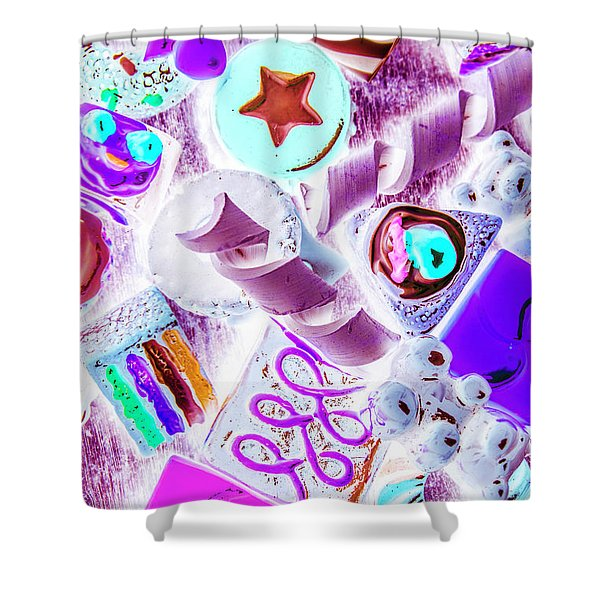 Creative Confectionary Shower Curtain