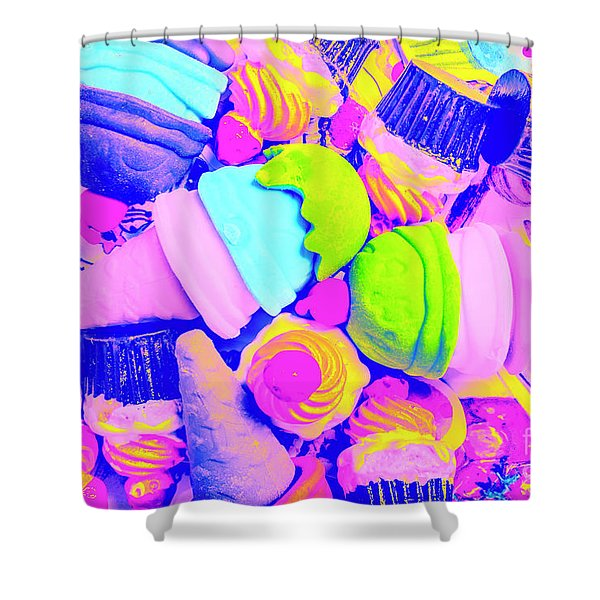 Creme De La Ice-cream Shower Curtain