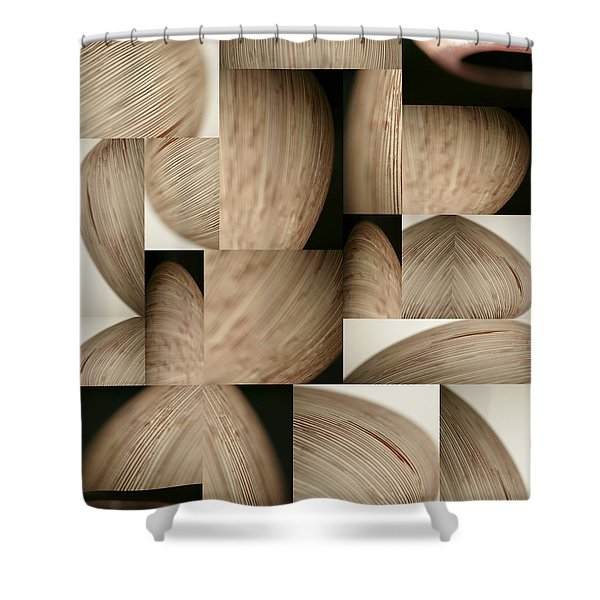 Crescents Shower Curtain