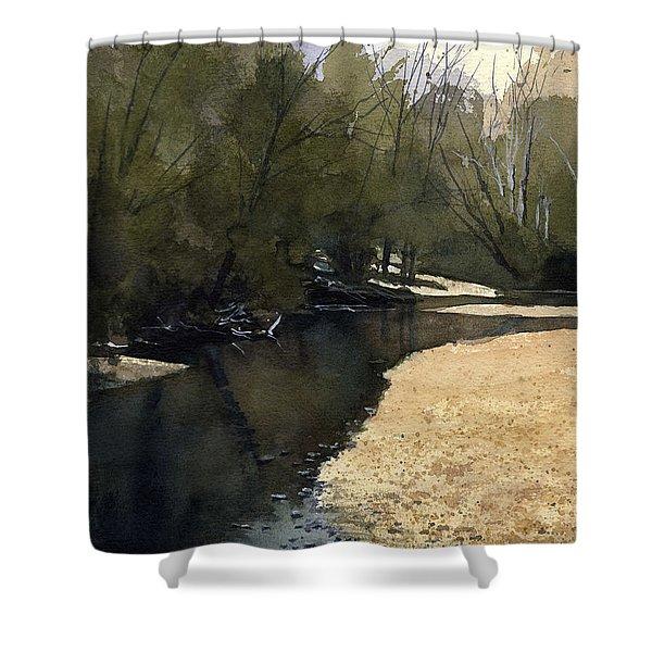 Crow Creek, Augusta, Missouri Shower Curtain