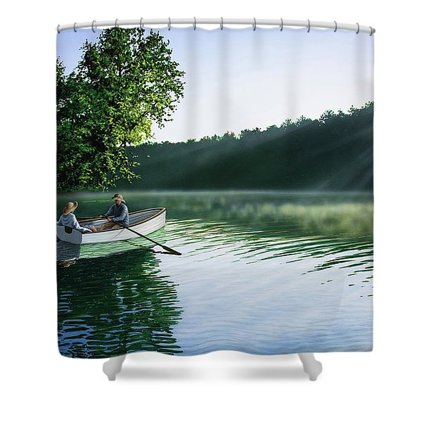 Cruise For Two Shower Curtain