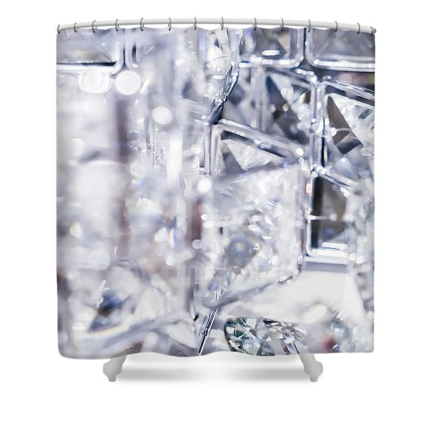 Crystal Bling I Shower Curtain